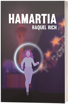 Hamartia - Raquel Rich - 3D book cover