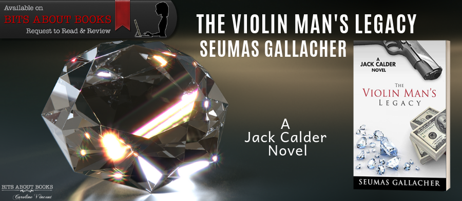 Request & Review Banner The Violin Man's Legacy - Seumas Gallacher