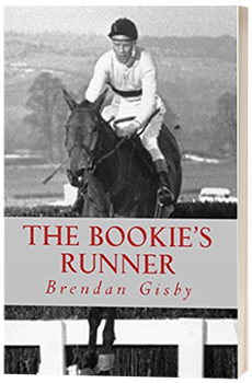The Bookie's Runner - Brendan Gisby - 3D book cover