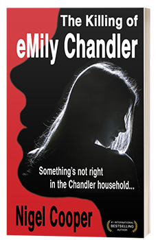 The Killing of Emily Chandler - Nigel Cooper - 3D book cover