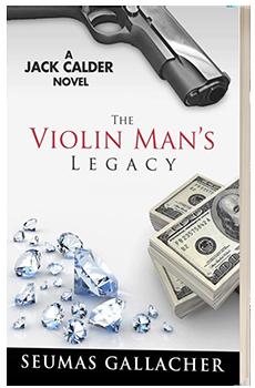 The Violin Man's Legacy - Seumas Gallacher - 3D book cover