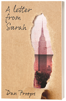 A Letter From Sarah - Dan Proops - 3D Book Cover