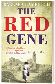 The Red Gene - Barbara Lamplugh - 3D book cover