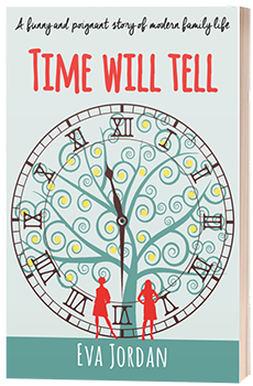 Time Will Tell - Eva Jordan - 3D Book Cover