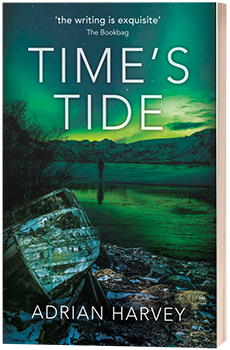 Time's Tide - Adrian Harvey - 3D book cover