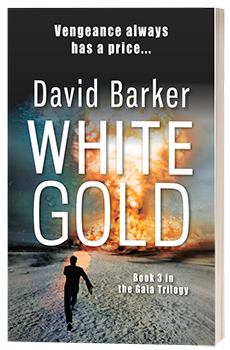 White Gold - David Barker - 3D book cover