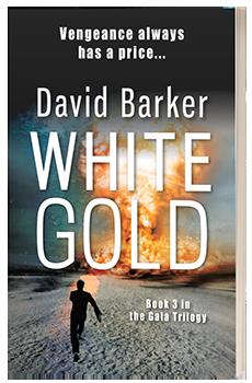 White Gold - David Barker - 3D book cover